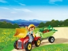 4943 - Boy with Children's Tractor