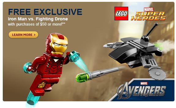 Iron Man Drone Set