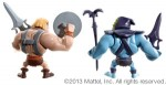 MOTU Mini HeMan and Skeletor 2