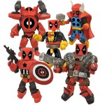 AFX SDCC2013 Deadpool Minimates Set