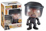 CC13 Walking Dead Prison Guard Walker Blood Splatter