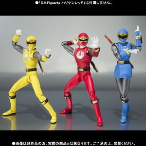 figuarts blue red yellow wind ranger