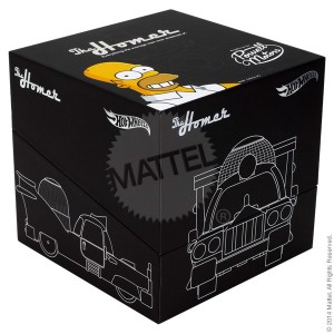 MattyCollector 2014 SDCC Hot Wheels Homer Boxed