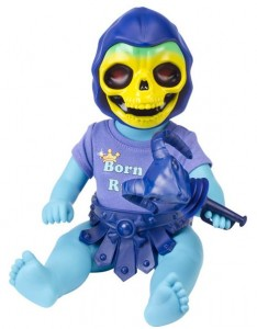 MattyCollector Baby Skeletor