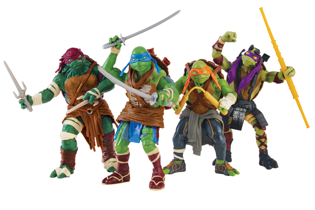 Where Can I Find Ninja Turtle Toys : Cowabunga pixel dan reviews new movie turtle toys