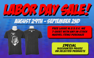 gentle giant labor day sale