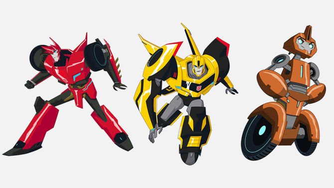 Sideswipe-Bumblebee-Fixit-Tranformers-Robots-in-Disguise-Animated-Series