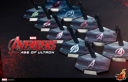 Hot Toys Age of Ultron Stands
