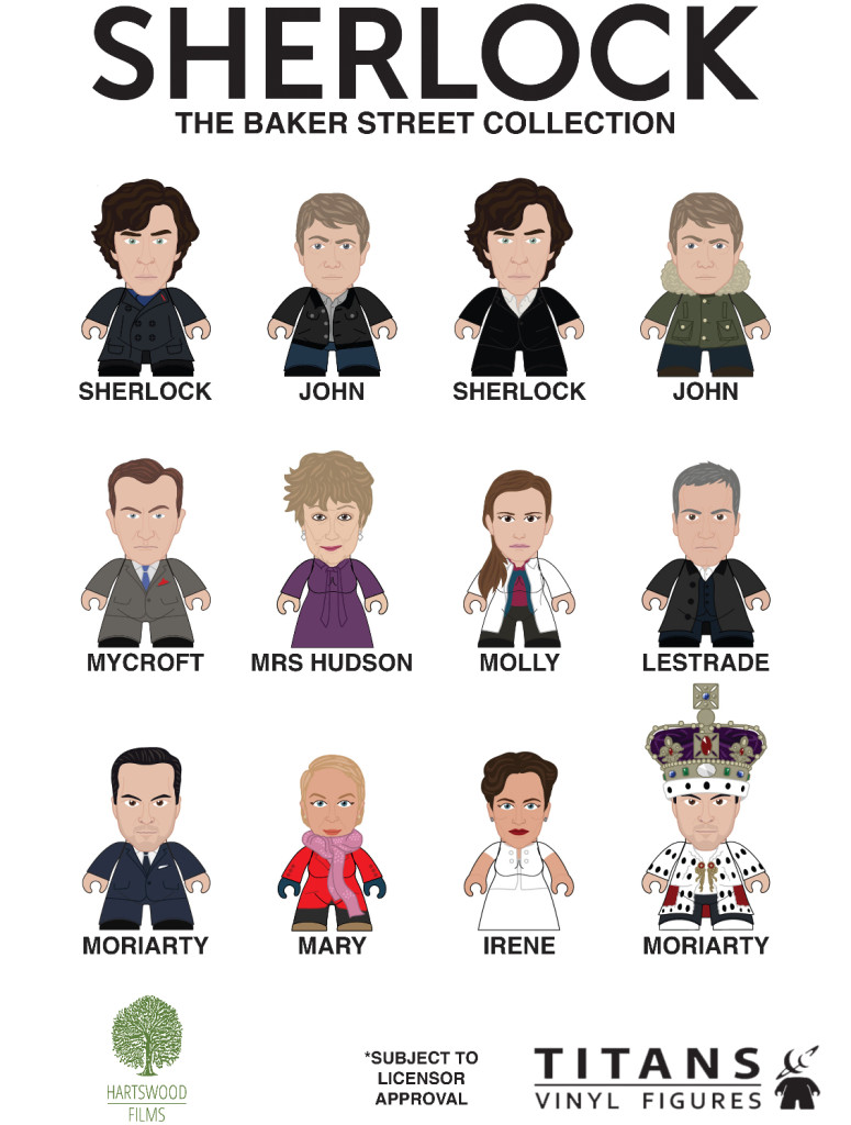 Titans Sherlock Collection