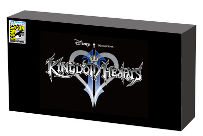Kingdom Heart Gold 2 Sword 2PC Box set label_0512