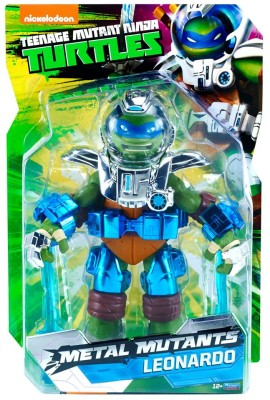Playmates CC15 Metal Mutants Leonardo
