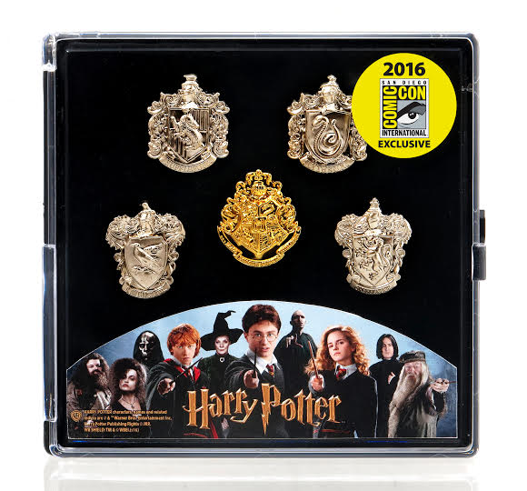 monogram cc16 exclusive 2 harry potter pin set
