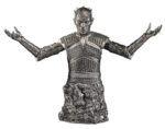 game of thrones the night king bust silver edition