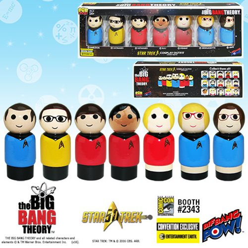 big bang theory pin mates big bang theory star trek