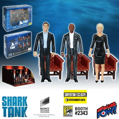 shark tank figure set 1