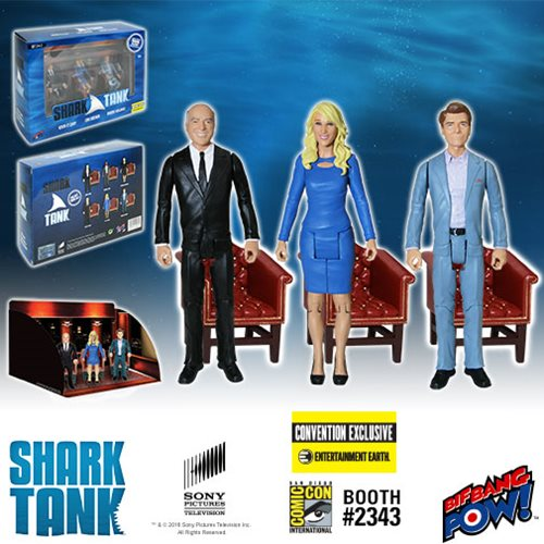shark tank figure set 2