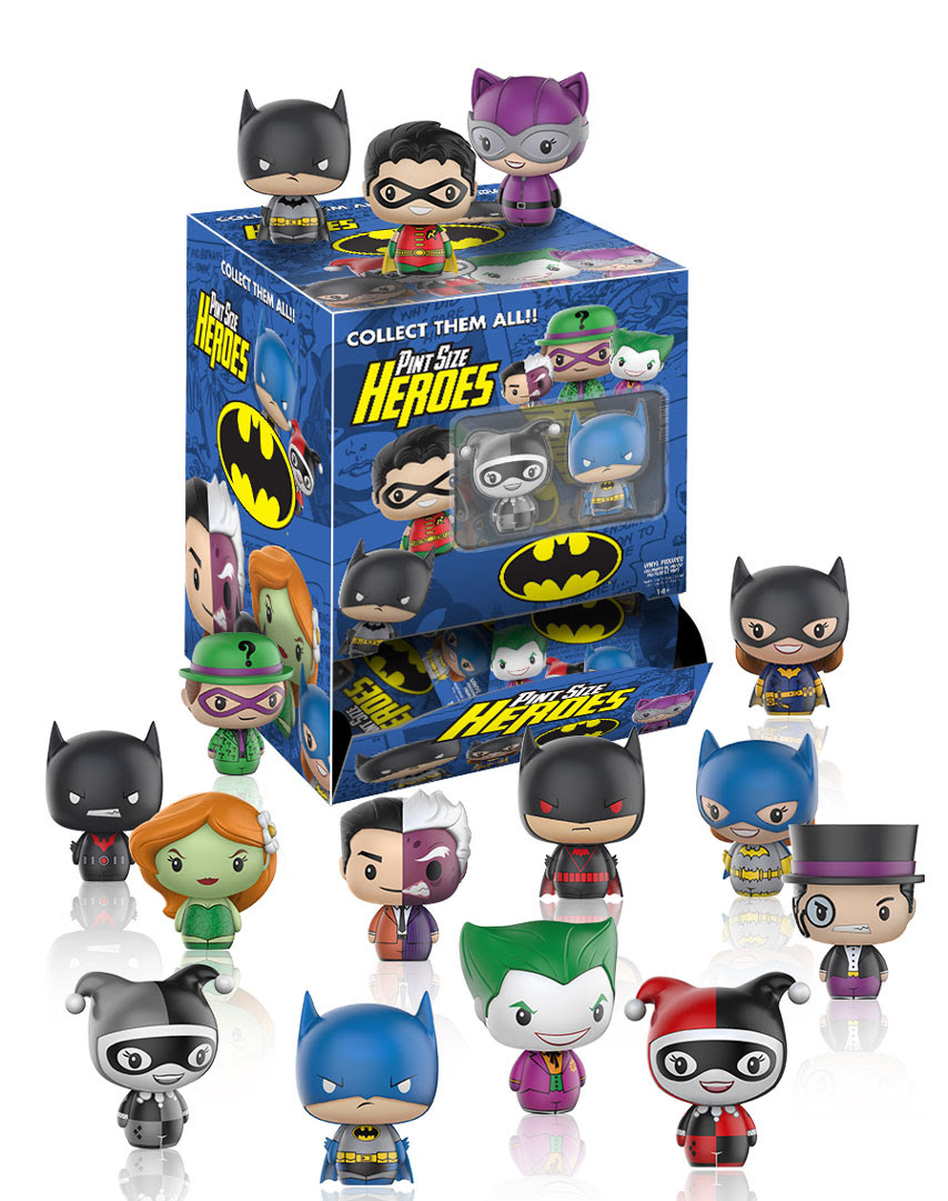 Funko Introduces New Pint Size Heroes Dc Marvel Steven